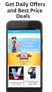 Price Comparison App Online Shopping apps India - náhled