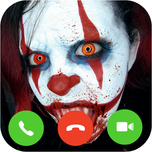 Video Call Scary Clown