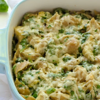 Spinach and Artichoke Mac and Cheese.