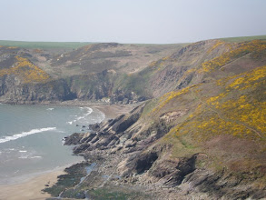 Photo: From Broad Haven to Solva (Cwm-Bach)