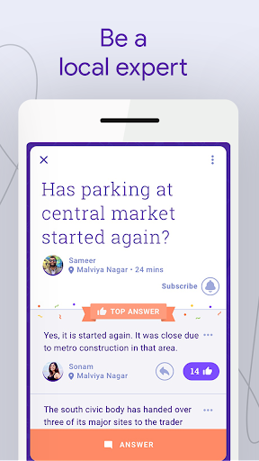 Neighbourly: Ask Local Questions & Get Answers 1.0.21 screenshots 2