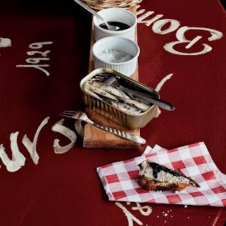 Sardine Toasts.