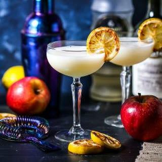 Ginger Apple Cocktail.