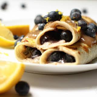 Lemon Blueberry French Toast Rolls.