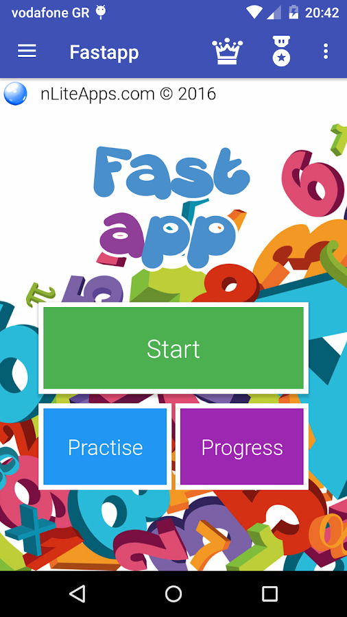 Fastapp- screenshot
