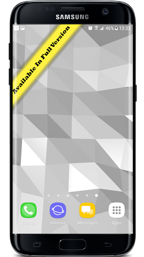 Parallax  Golden Crystal Edge 3D Live Wallpaper 1.0.1 screenshots 3