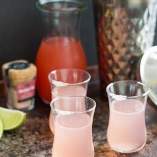 Paloma Pink Grapefruit Shots
