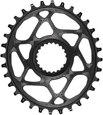 Absolute Black Oval Direct Mount Chainring - Shimano Direct Mount, 3mm Offset, Requires Hyperglide+ Chain alternate image 12
