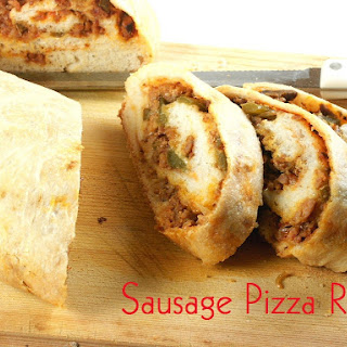 Sausage Pizza Roll.