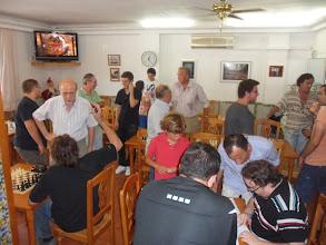 Photo: Torneo de partidas rápidas en la Chacona. Esperando los emparejamientos
