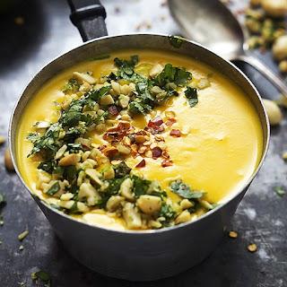 Slow Cooker Thai Butternut Squash Soup.