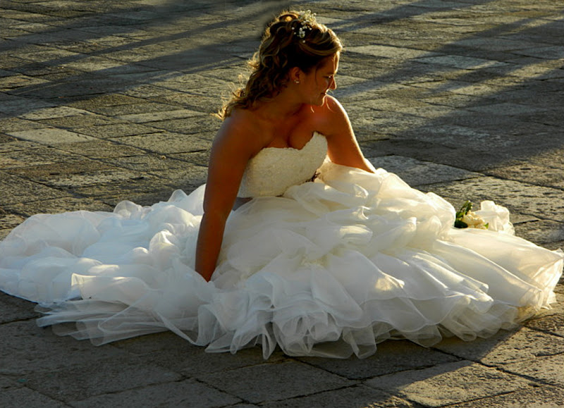 Sposa al tramonto a Venezia di lucaldera