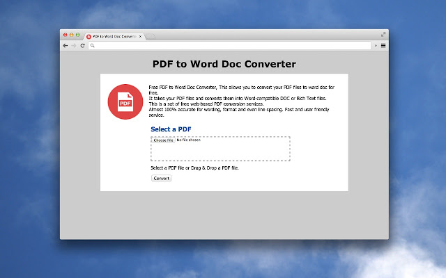 how to turn a pdf into a doc