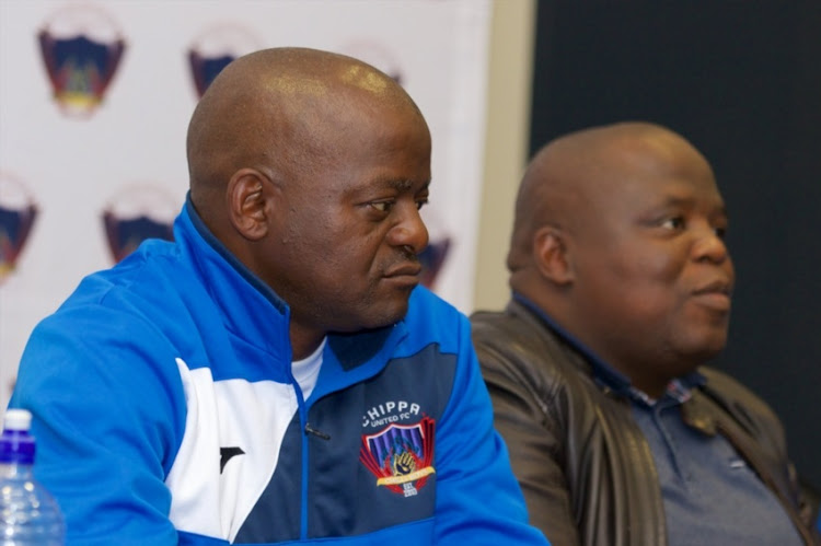 Dan Malesela, Head coach, during the Chippa United press conference at Nelson Mandela Bay Stadium on August 02, 2018 in Port Elizabeth, South Africa.