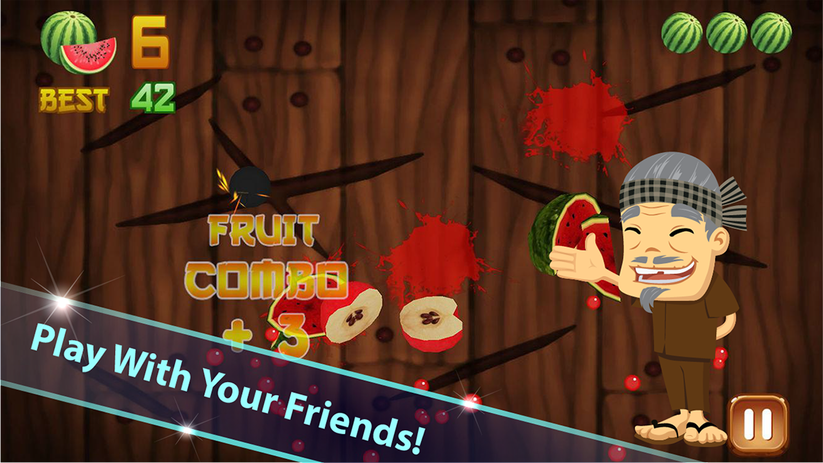 Fruit bump game free download - Fruit Cut Mini Free Screenshot