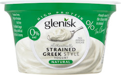 Glenisk 0% Fat Strained Greek Style Yogurt - Natural, 150g