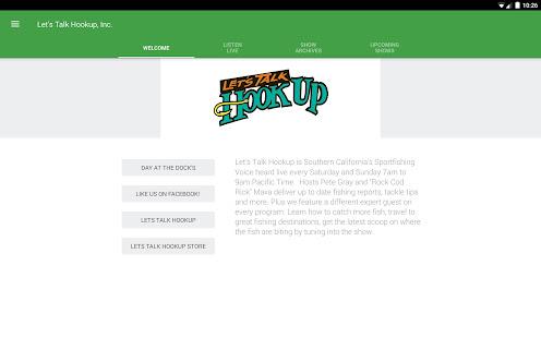Lets talk hookup app