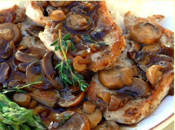 Pork Chop Marsala Recipe