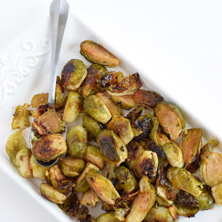 Honey Roasted Garlic Brussels Sprouts Recipe