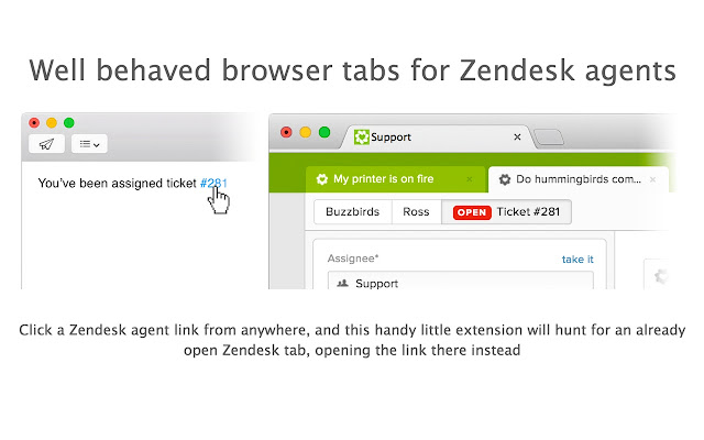 Zendesk Quicktab