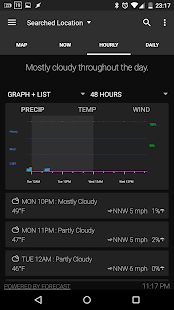 Arcus Weather Screenshot