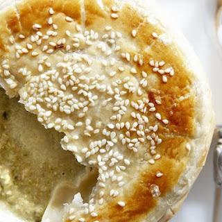 Celiac Friendly Cauliflower Soup with Pastry Lid