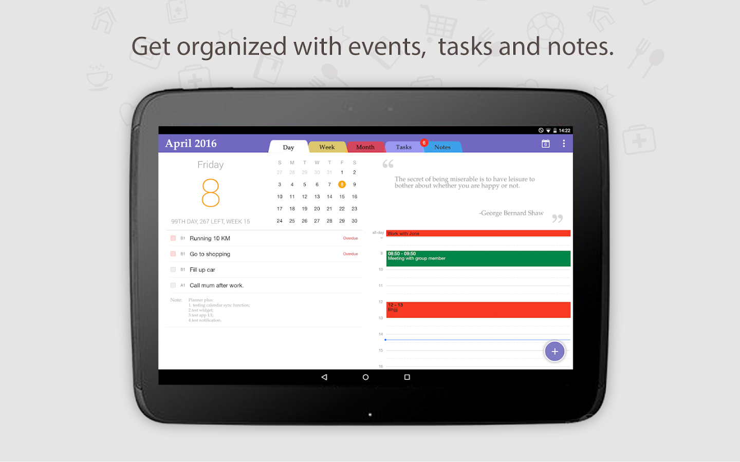 business planner app android