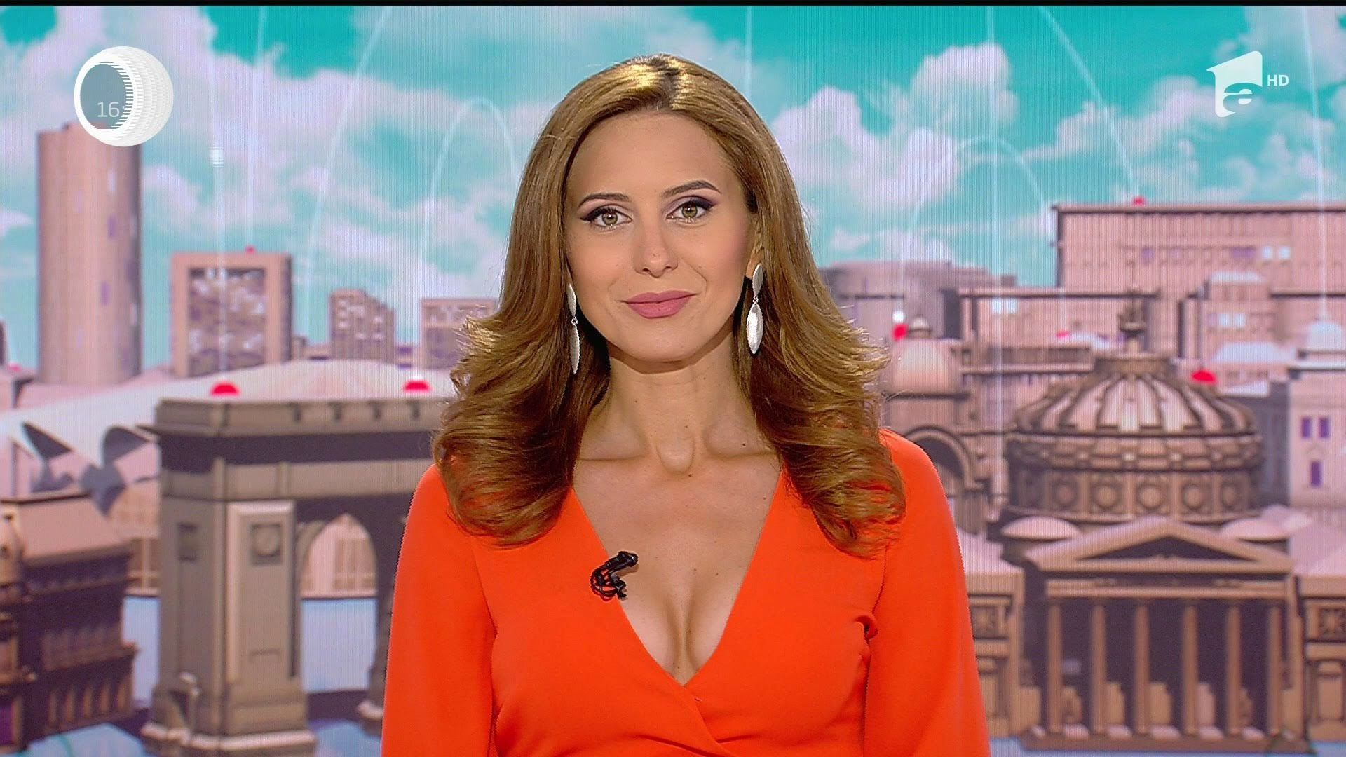 Such a fascinating news anchor!