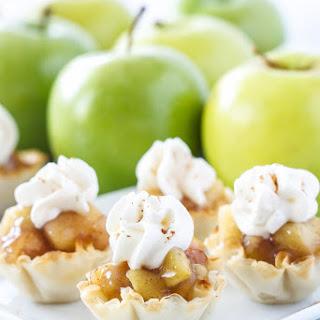 No Bake Apple Pie Bites