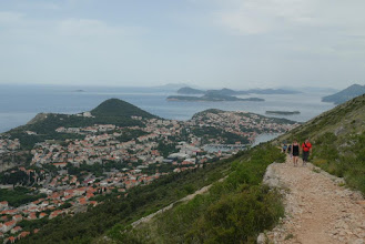 Photo: Walking up Srd Hill for great views of Dubrovnik below