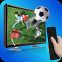 Universal Remote Control TV 3D icon