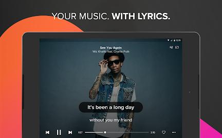 Musixmatch music & lyrics Screenshot 1