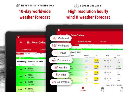 Windfinder Pro - weather & wind forecast screenshot 9