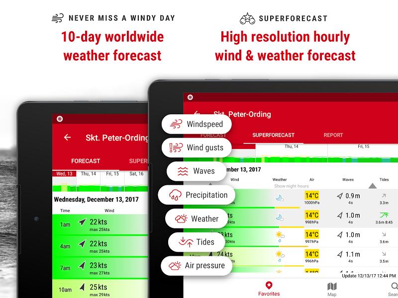 Windfinder Pro - weather & wind forecast Screenshot 8