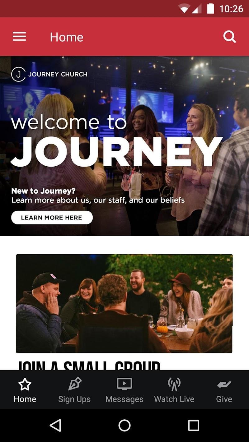 Скриншот Journey Church Jacksonville