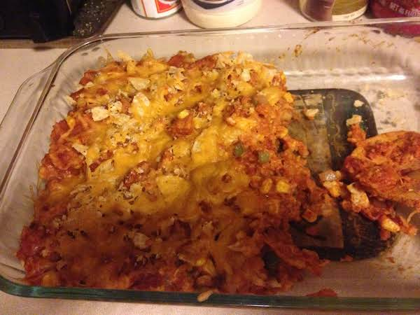 Taco Casserole (easy, Cheap, And Quick) Recipe