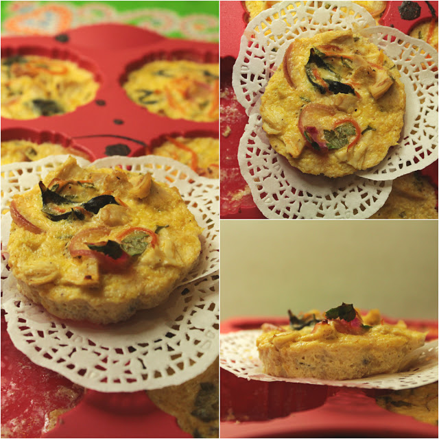 Chicken Vegetable Tartlets