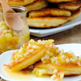 Awesome Apple Cinnamon Pancakes Recipe