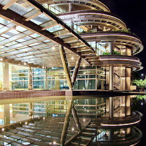 by Rudy Kurniawan - Buildings & Architecture Office Buildings & Hotels ( pwcreflections-dq )