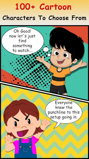 Cartoon Comic Strip Maker 1.6 Screenshots 7