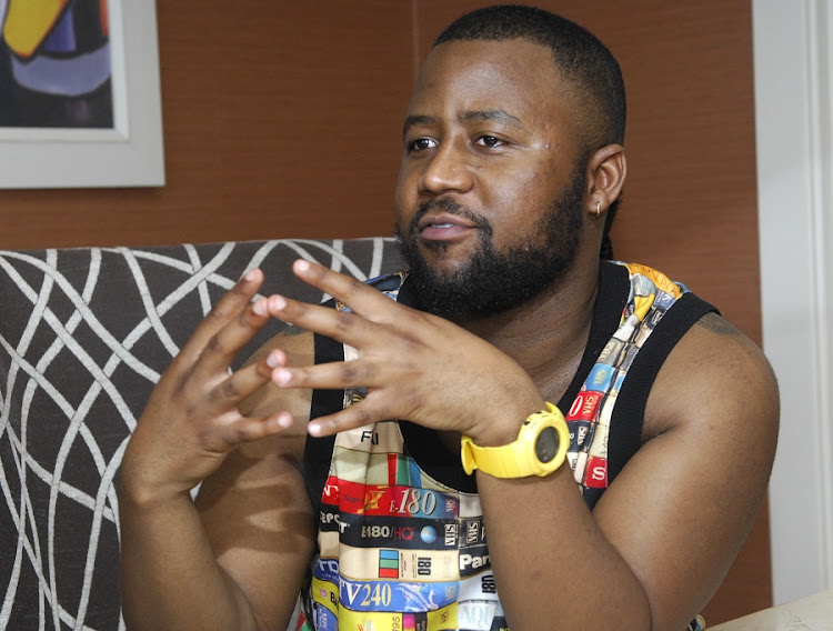 Cassper Nyovest caters to the urbane black middle class without alienating less affluent fans by rapping both in English and Tswana.. Picture: FREDDY MAVUNDA