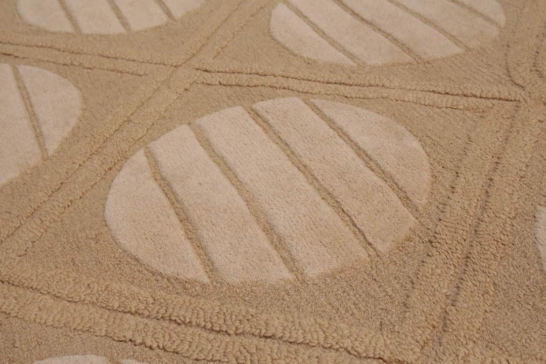 100% wełnany 40kg dywan z Indii ręcznie taftowany złoto szary z połyskiem piękny nowoczesne wzory