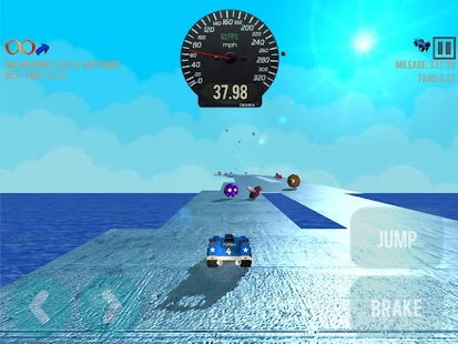 Little Jumping Stunt Car Race- screenshot thumbnail