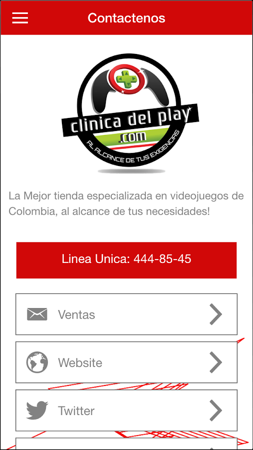 Shop Clinica del Play- screenshot