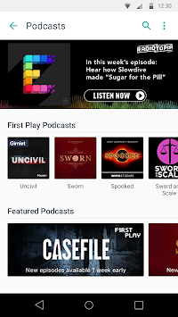 TuneIn Radio APK screenshot thumbnail 4