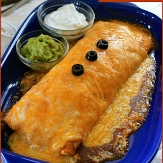 Copycat Hacienda Wet Burritos (Shredded Pork, Beef, Chicken or Ground Beef).