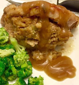 Easy Stuffed Pork Chops By Noreen Recipe