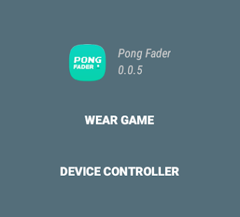 1 or 2 players : Pong Fader- screenshot thumbnail