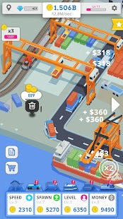 Idle Port Tycoon Screenshot