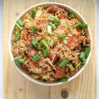 'The Take It Easy' Fish Fried Rice.